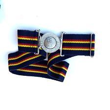 Belt Stable Belt Green White Dark Blue 50mm Wide Size 28-44 R1698