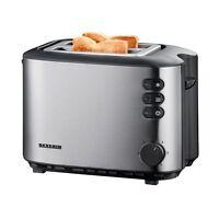 Severin AT 2514 Edelstahl Automatik Toaster Auftaufunktion Krümelschublade 850