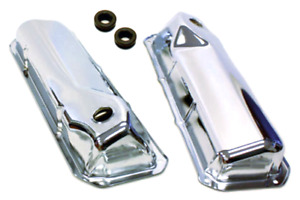 CHROME FORD VALVE COVERS 351C-351M-400M-BOSS 302 351 CLEVELAND