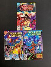 Power Lords 🔥 #'s 1,2,3 COMPLETE MINI SERIES RUN! DC Comics 1983 NM!