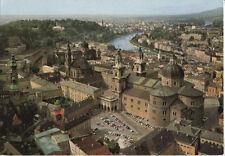 Alte Postkarte - Luftbild von Salzburg