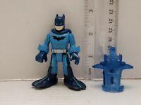 "3"" DC Comics Blue Batman Superhero Mini Action Figure Figurine Sucba Diving"