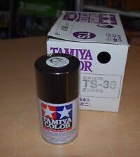 Tamiya TS-38 Gun Metal Spray Paint Can  3.35 oz. (100ml) 85038 NEW