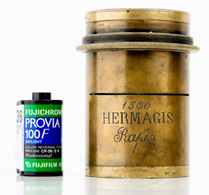 Fake Hermagis lens aplanat 400mm f8 ULF 8x10 11x14 12x16