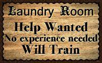 (Laundry Room Help)  WALL DECOR, RUSTIC, PRIMITIVE, HARD WOOD, SIGN, PLAQUE