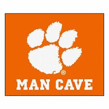 Clemson Tigers Man Cave 5' X 6' Tailgater Area Rug Floor Mat