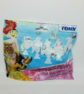 Set Of 5 Tomy Disney Princess Statue Collection Blind Mystery Bag Great Gift