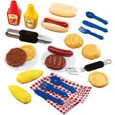 26-Piece Backyard Barbeque Grilling Goodies Play Food Set Indoor/Outdoor Toys