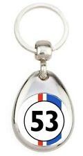Amour de Coccinelle VW 53 Herbie Choupette Porte clé en métal