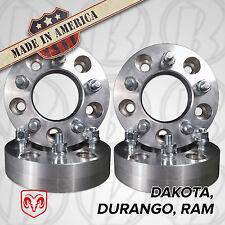 "USA Made| Dodge Wheel Adapters /1.25"" Spacers| Dakota Durango Ram 5x5.5 to 5x150"