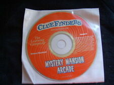 NEW CLUEFINDERS PC MYSTERY MANSION ARCADE CD PLASTIC SLEEVE WIN/MAC YEAR 2002