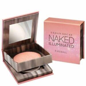 NIB Urban Decay Naked Illuminated Shimmering Powder Face & Body FIREBALL w/Brush