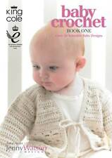 King Cole Baby Crochet Patterns Book 1 - Sweaters Cardigans Hats Jacket