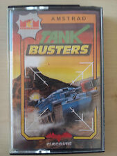 TANK BUSTERS - AMSTRAD CPC 464 CASSETTE SPANISH EDITION / MCM SOFTWARE FIREBIRD