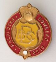 Balclutha Bowling Club Badge Pin New Zealand Rare Vintage (M21)