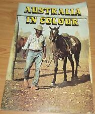 Australia in Colour Vintage 1970s Tourist Book Guide Aboriginal Stockmen Surfers