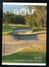 AUSTRALIA Presidents Cup Golf Tournament MNH Booklet
