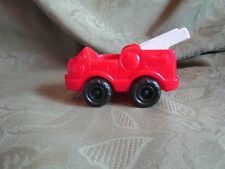 Fisher Price Little People Fire Truck Rescue red and white ladder