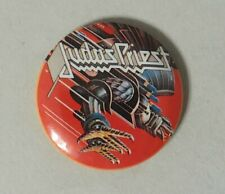 Judas Priest Screaming For Vengeance Button Pin Back Band Concert Collection