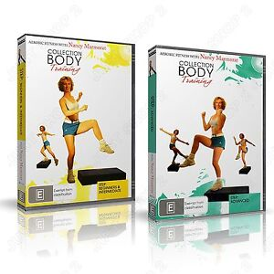 Step Aerobics - Beginners to Advanced Workout : Brand New Exercise 2 DVD Set