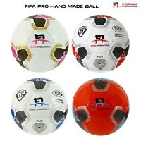 Football Size 3,4,5 Pu leather Top quality Soccer balls Match ball Hand Stiching