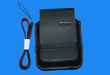 ORIGINAL SONY LCS-THT CYBER-SHOT  CAMERA CARRYING CASE WITH STRAP - BLACK