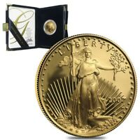 2007 W 1/2 oz $25 Proof Gold American Eagle (w/Box & COA)