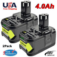 RYOBI 8V ONE+ LITHIUM+ 4.0Ah Battery - 2-Pack (P122)