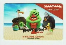 Cinemark Gift Card - Angry Birds 2 Movie Theater - No Value - I Combine Shipping