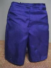 BARBIE KEN Doll CLOTH-Royal Purple TRUNKS Bathing Swimming Pool Swim Suit SHORTS