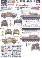 Star Decals 1/35 UKRAINE & NOVORUSSIYA Ukraine Government & Pro Russian Forces