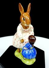 """Royal Doulton Db8 Hand Signed 4"""" Dollie Bunnykins Playtime 1992"""