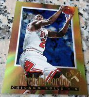 MICHAEL JORDAN 1996 Fleer Skybox 2000 E-X GOLD FOIL Acetate Bulls HOF MVP $$$