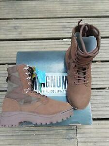 Genuine Army Issue Magnum Amazon Combat Desert Patrol Boots - MOD Brown Size: 4M