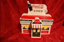Enesco 1999 Coca Cola Truckers Welcome Always Open Diner Cookie Jar Vintage