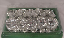 Vintage Christmas Light Reflectors West Germany Clips NOS 10