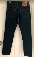 Levi's Men's 511 Denim Dark Wash Blue Jeans 29 x 32