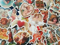 Baby Cherub Stickers 20/50 Christian God Angel Cupid Mother Mary Bible Scrapbook
