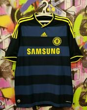 Chelsea FC 2009 2010 Away Football Shirt Soccer Jersey Top Adidas Mens size L