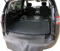 Ford S-Max 7 seats LDPE boot tray rubber load liner dog mat bumper protector