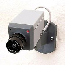 NEW Fake Dummy Security Camera.Motion Detecting.Red Light.Swivels Around.Theft
