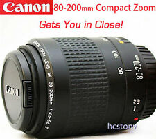 CANON EOS EF 80-200mm AF Zoom Lens, Telephoto for Rebel~Digital~Film XLNT CLEAN!