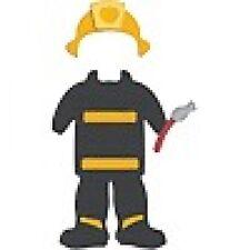 """Quickutz """"REV 0273-S Revolution Die """"Firefighter Uniform"""" DISCONTINUED"""