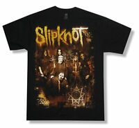 SLIPKNOT RUSTY LOGO TOUR 2012 BLACK T-SHIRT SMALL NEW OFFICIAL