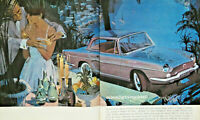 PUBLICITÉ PRESSE 1963 LA VIE PLUS BELLE AVEC PERRIER RENAULT MOONLIGHT-COCKTAIL