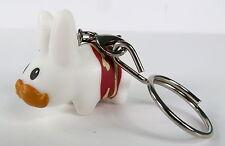 Kidrobot Bite Sized Labbit Vinyl Keychain Series Bacon Wrapped Labbit NEW