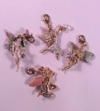 Kirks Folly NWOT Set Of 4 Fairy Charms Gold