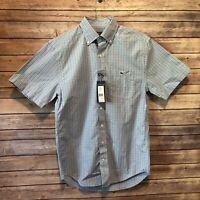 Vineyard Vines Classic Fit Tucker Shirt Men's Size Small Jake Blue Button Front