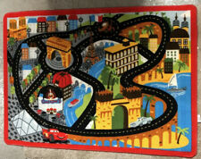 Cars 2 Gastow Racetrack Play Rug Play Mat New Without Box/tag
