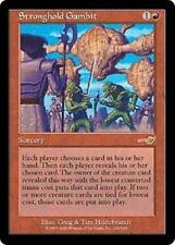 STRONGHOLD GAMBIT Nemesis MTG Red Sorcery RARE
